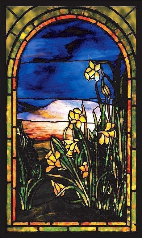 Lois Comfort Tiffany Daffodils